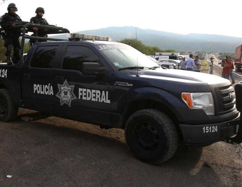 Fotografía de archivo que muestra a policías federales de México. EFE/ARCHIVO