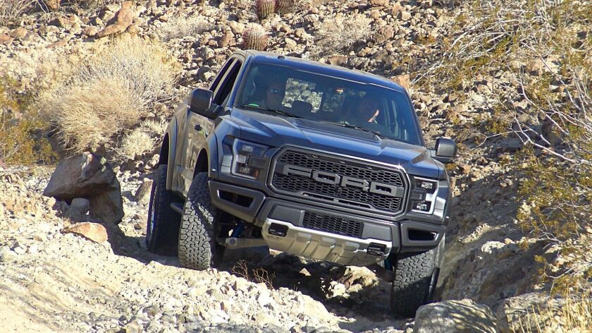 Ford's Raptor is rough, ready and cushy - Los Angeles Times