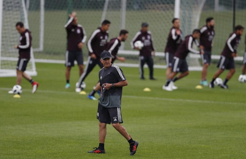 Juan Carlos Osorio y el Tricolor mexicano debutan este domingo.