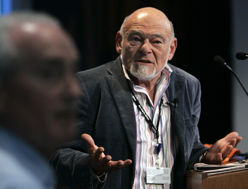 He wasn't the answer, either: Tribune's former owner Sam Zell, in 2008.