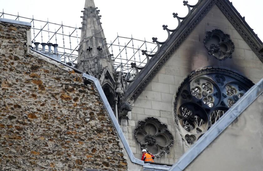 Feu cathédrale Notre Dame de Paris