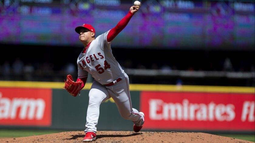 Jose Suarez's victorious debut bolstered by Angels' heavy hitters