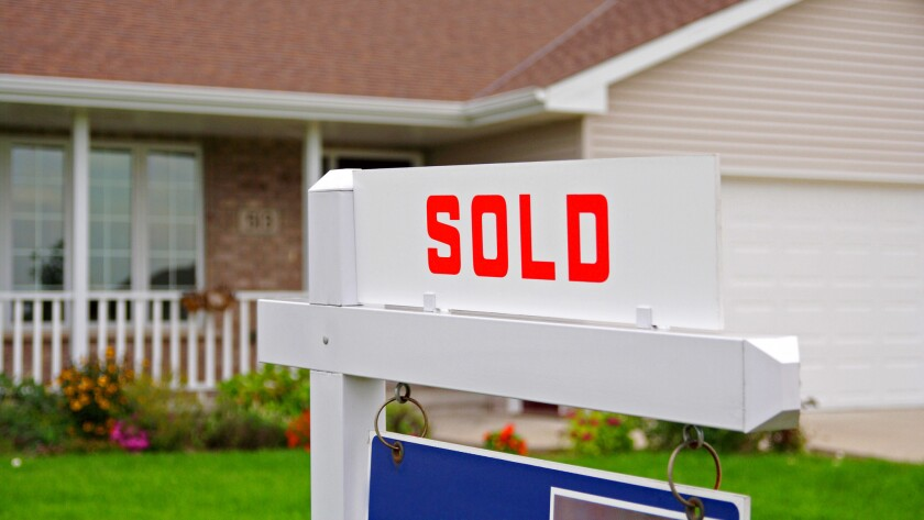 San Diego County's median home price hit its highest price in history in July 2018, $579,750, while sales hit a four-year low, real estate tracker CoreLogic reported.