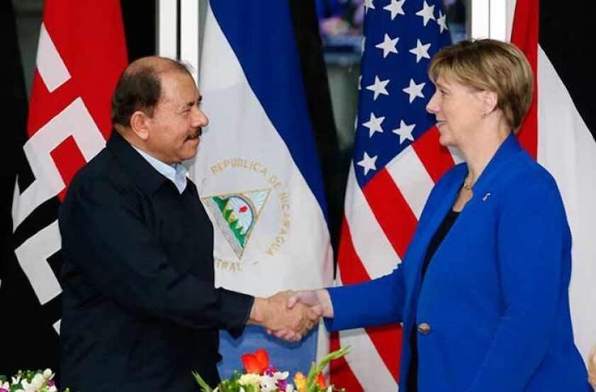 """La embajadora de Estados Unidos en Managua, Laura F. Dogu, aseguró hoy que la imagen de Nicaragua en Washington ha cambiado """"en una manera no muy buena"""", principalmente por el estado de la democracia del país centroamericano."""