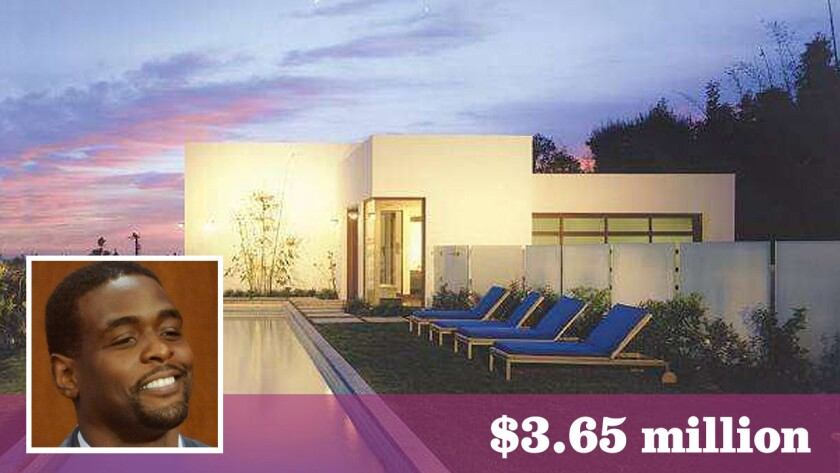 Chris Webber, the retired NBA star turned television analyst, has lowered the price on his modern home in Malibu.