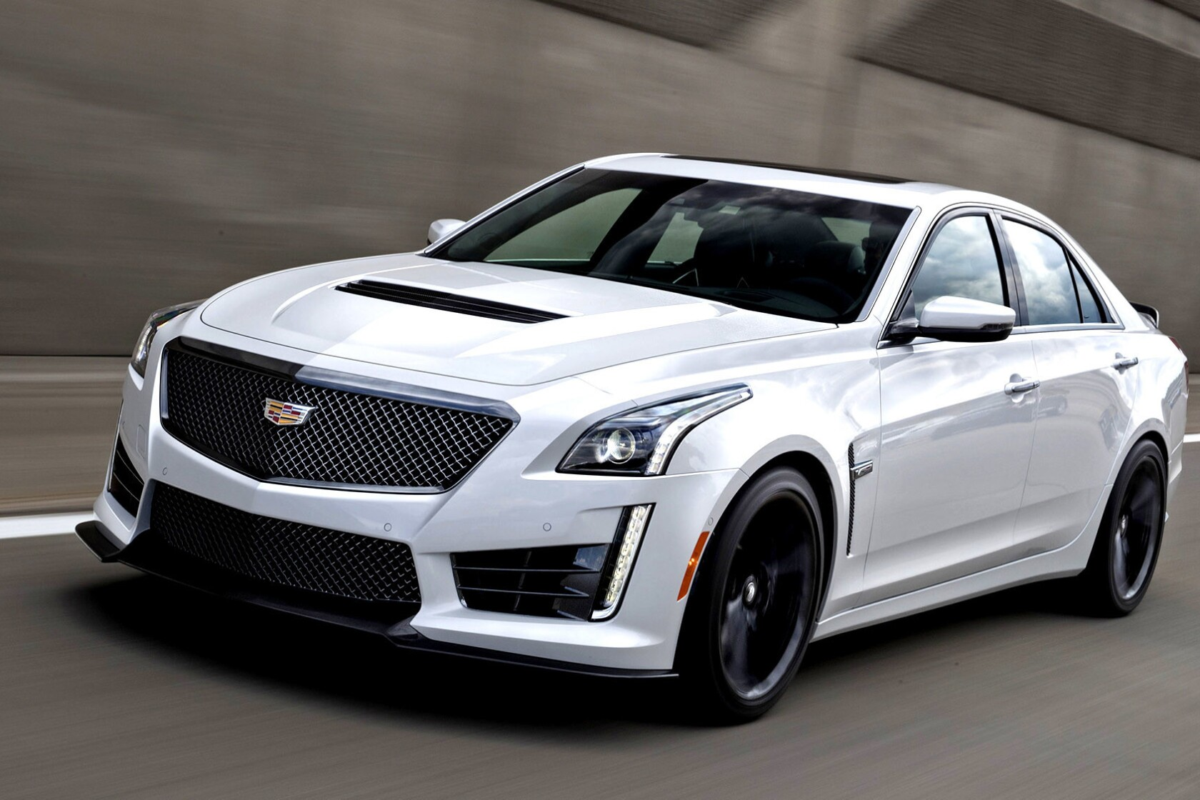 Review: Cadillac's CTS-V is a high-end hooligan that doubles