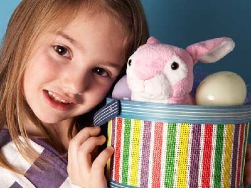 Your child is asking some very pointed questions about the Easter Bunny. 