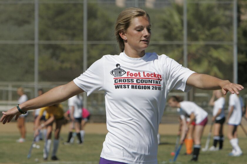La Costa Canyon's Kelly Lawson has the top time in the 3,200 meters.