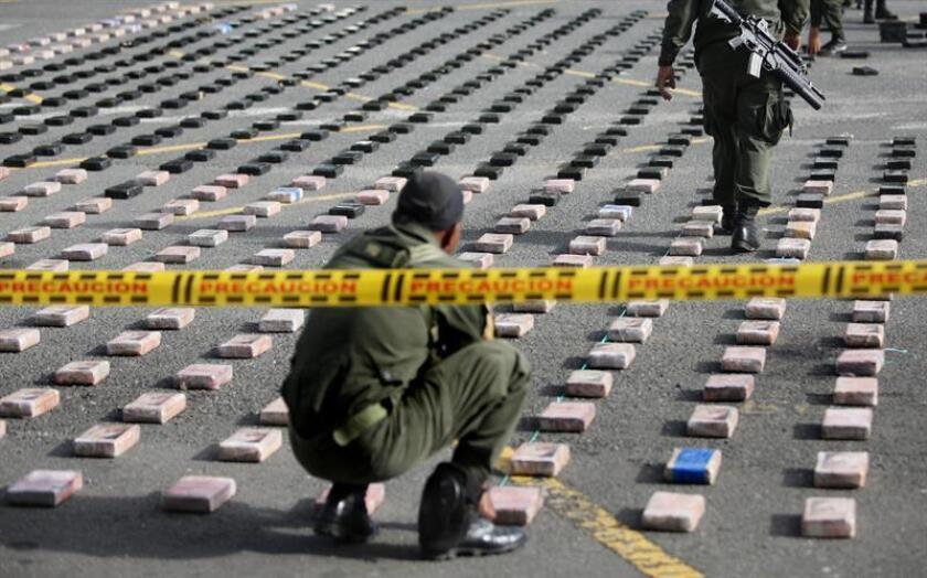 """En el estudio, basado en reportes y estadísticas en su mayoría correspondientes a 2015 y 2016, se afirma que el istmo """"ha dejado de ser un lugar de tránsito de la droga, para convertirse en un lugar protagonista de la acción de los carteles mexicanos"""". EFE/Archivo"""