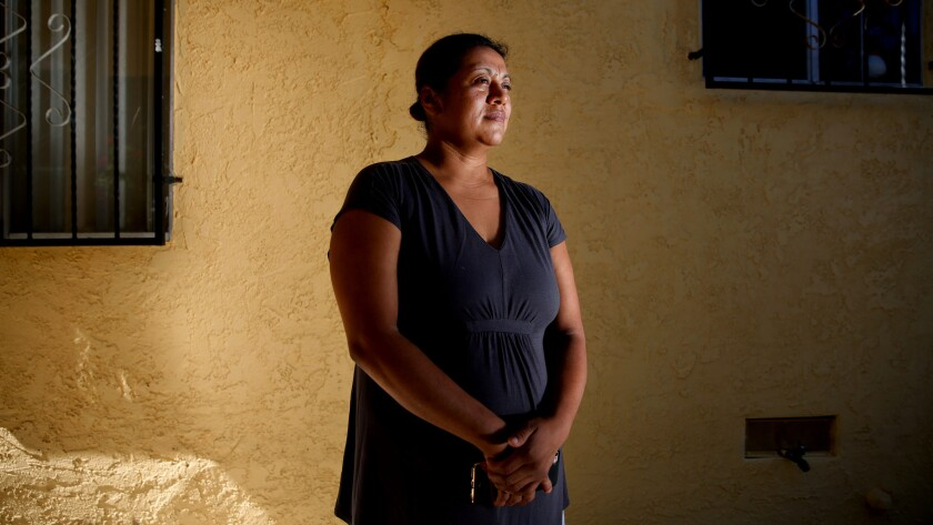 Juana Tirado was injured when a reckless driver fleeing LAPD officers ran into her car.