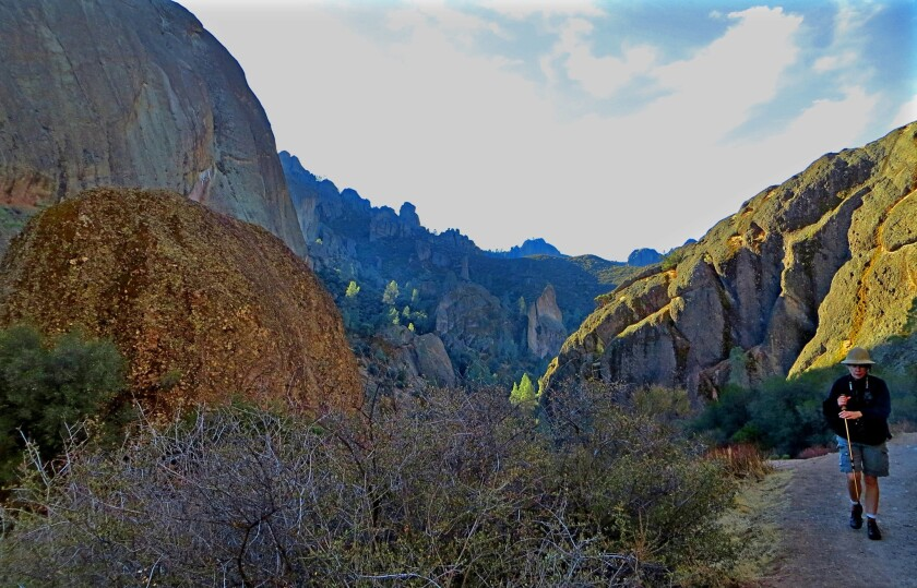 A view of Pinnacles National Park