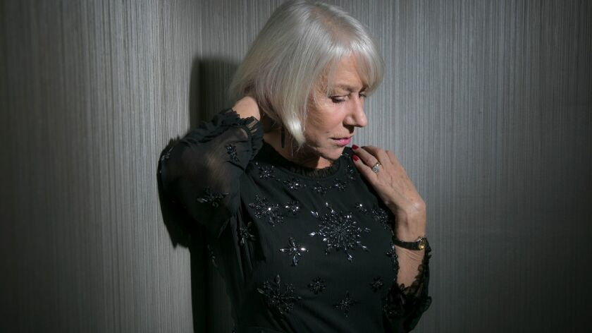 """Helen Mirren says she was drawn to her real-life character's tragic obsession and what she sees as her guilt and pain in the new supernatural film """"Winchester."""""""
