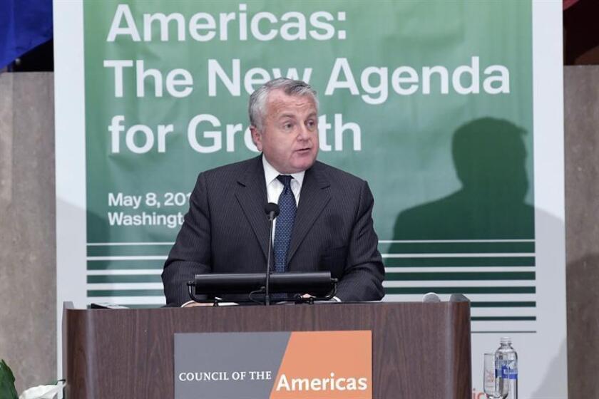 El subsecretario de Estado de EE.UU., John Sullivan. EFE/Archivo