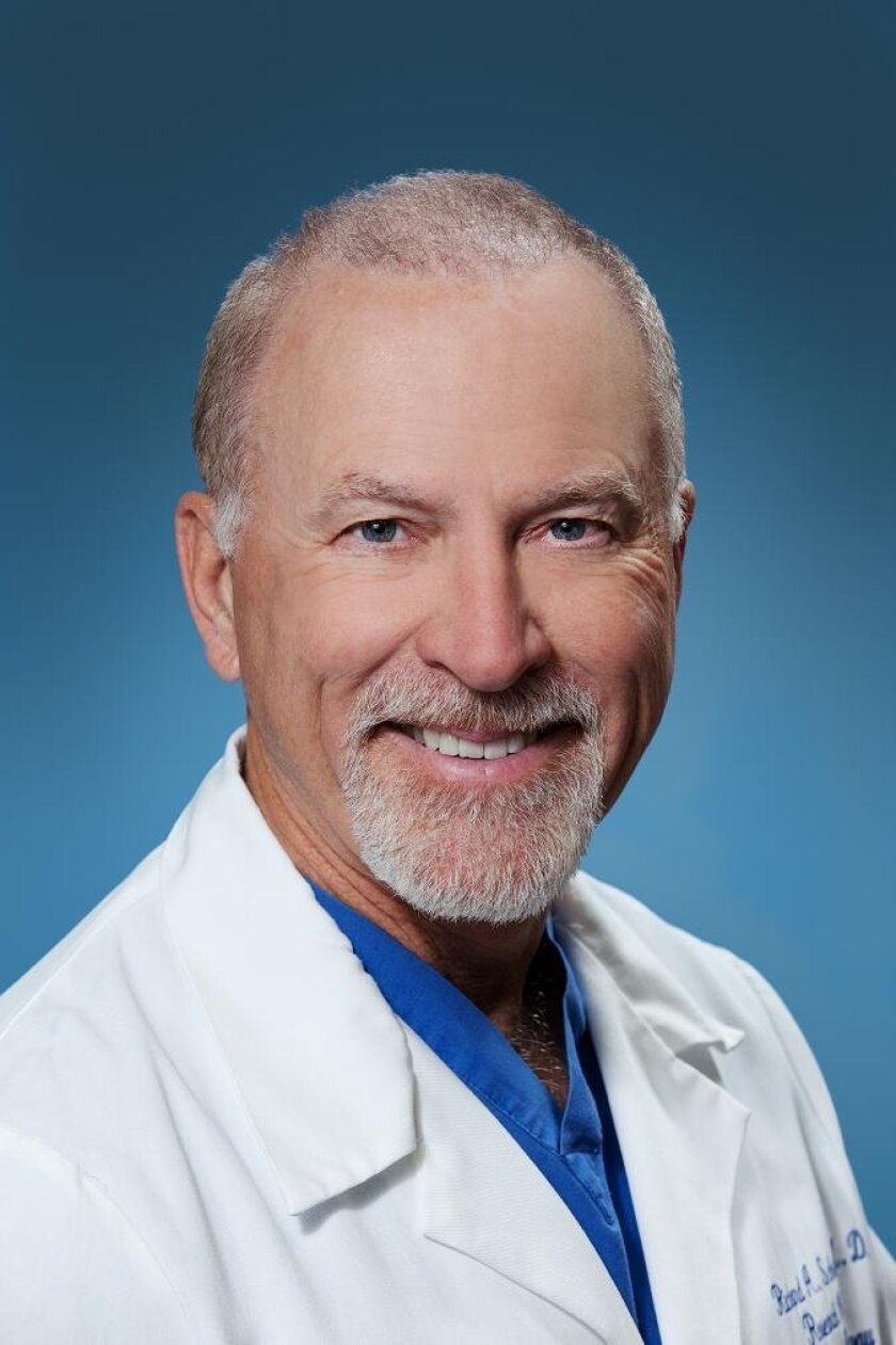 Scripps cardiologist Richard Schatz, principal investigator of Cytori's ATHENA heart failure trial at Scripps.
