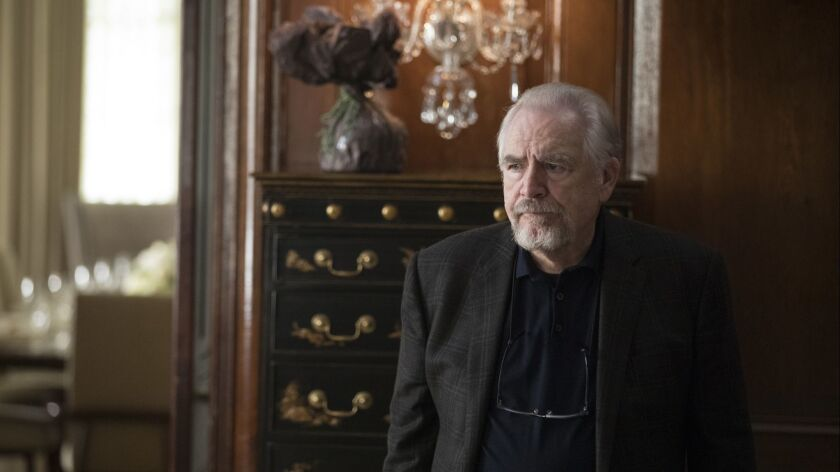 """Brian Cox in a scene from """"Succession."""" Credit: Craig Blankenhorn/HBO"""