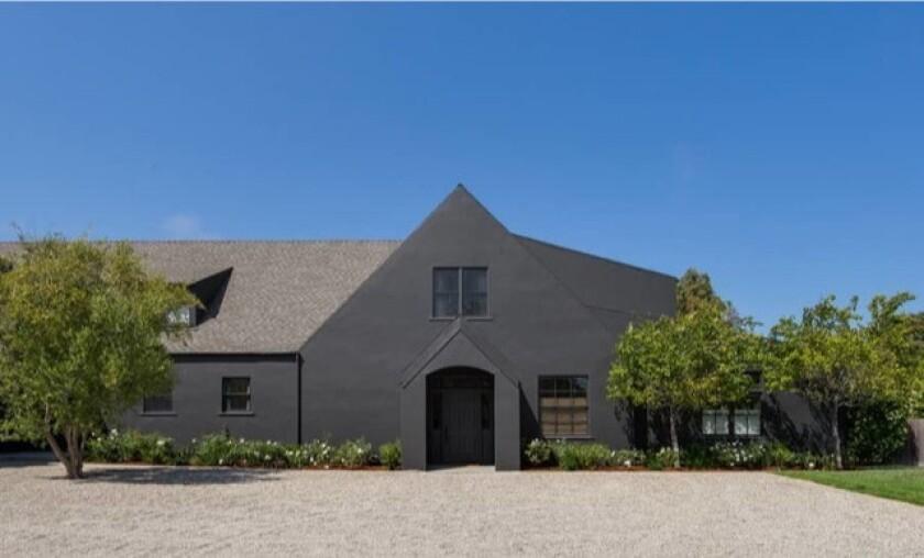 Aileen Getty's Malibu farmhouse