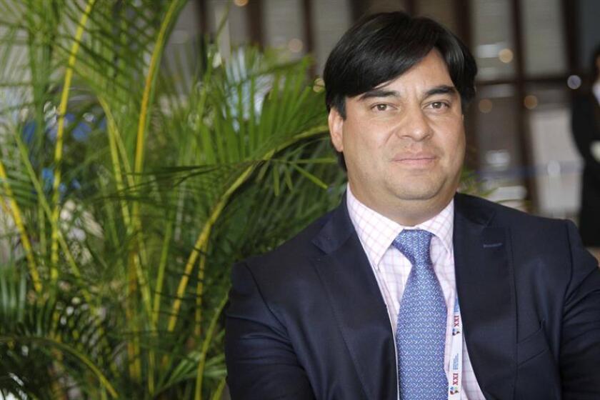 El director ejecutivo de la agencia Invest in Bogota, Juan Gabriel Pérez. EFE/Archivo