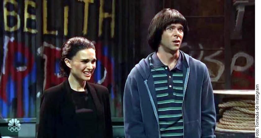 La actriz, de 36 años, participó este fin de semana en un sketch de Saturday Night Live, en el que tomó el papel de Brown en Stranger Things: Eleven.