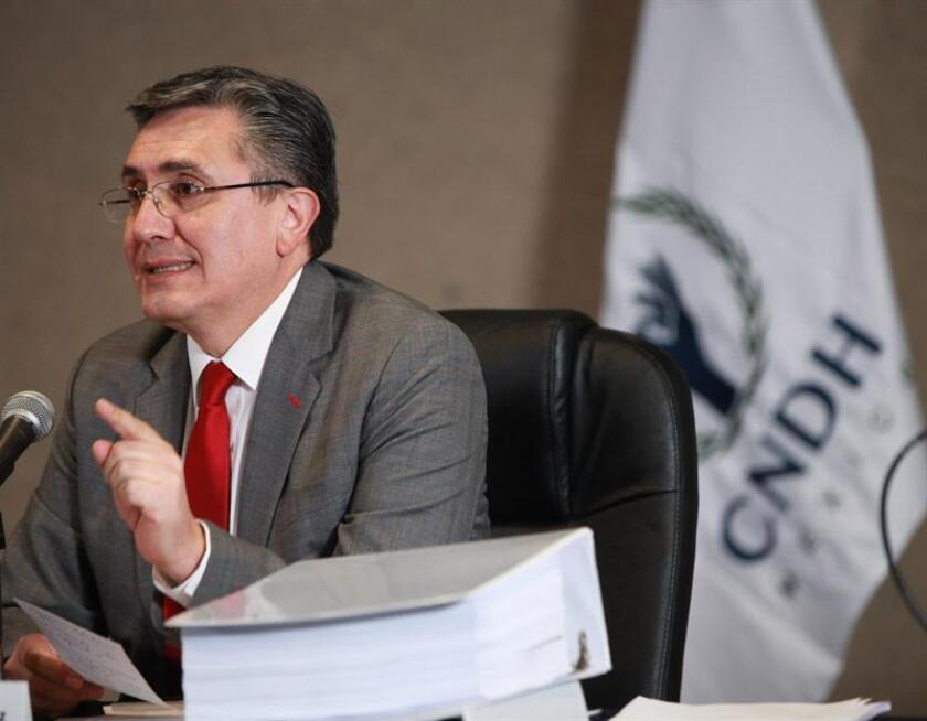 La Comisión Nacional de Derechos Humanos (CNDH) de México informó hoy que presentó ante la Corte Interamericana de Derechos Humanos (CorteIDH) un escrito en calidad de amicus curiae (amigo de la corte) sobre una opinión consultiva planteada por Colombia en marzo de 2016. EFE/ARCHIVO