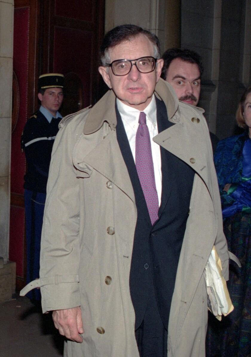 Bernard Nathanson in 1992.