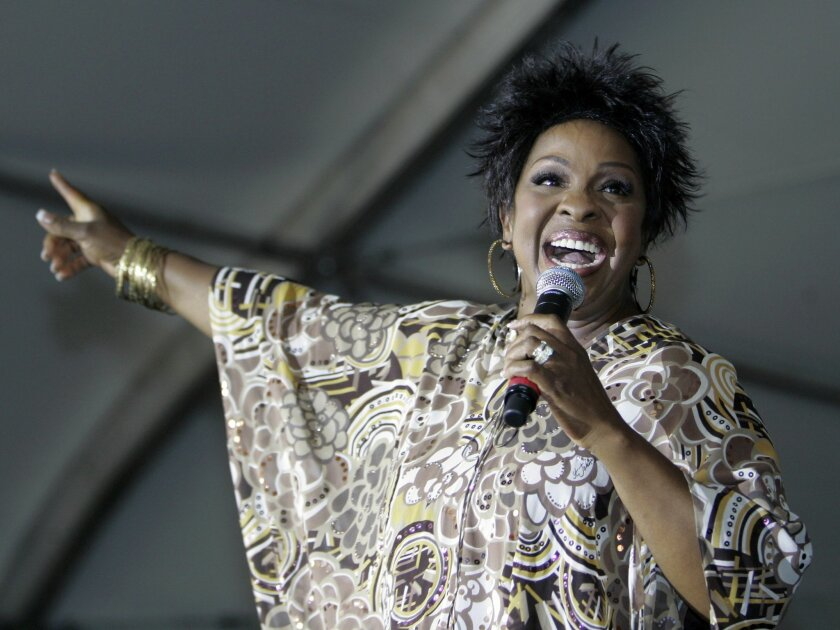 """FILE - In this Saturday, Sept. 8, 2007 file photo, R&B great Gladys Knight performs at the 13th annual Staglin Family Music Festival for Mental Health in Rutherford, Calif. New York Jets coach Todd Bowles is a big fan of R&B singer Gladys Knight and now the """"Empress of Soul"""" knows all about it, Wednesday, Sept. 23, 2015. (AP Photo/Eric Risberg, File)"""