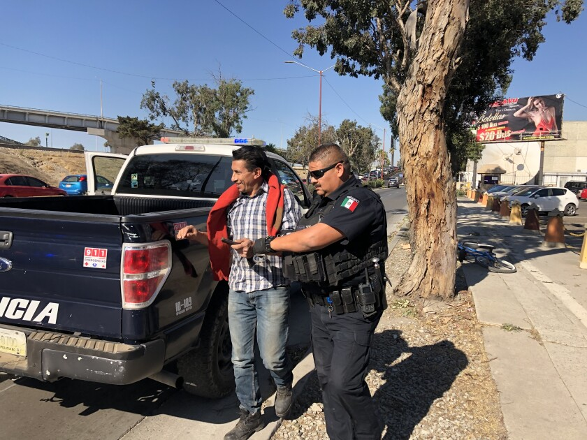 TJ Police arrest