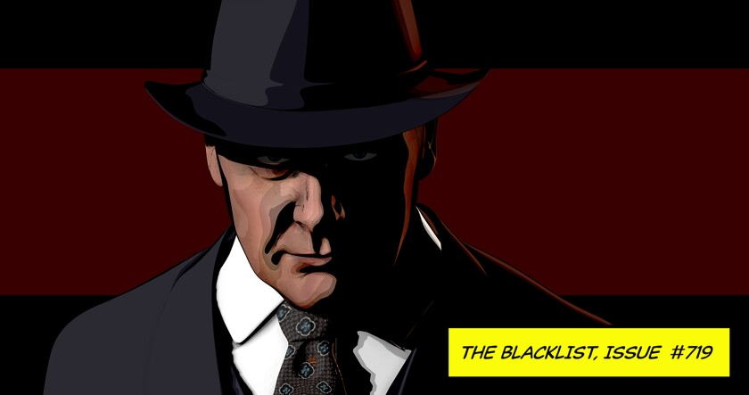 """Raymond """"Red"""" Reddington in """"The Kazanjian Brothers"""" episode of """"The Blacklist."""" The series finished its season by replacing scenes it hadn't managed to shoot with animated segments."""