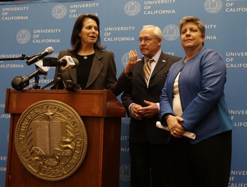 Janet Napolitano and UC