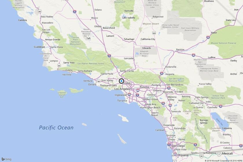 Earthquake: 2.8 quake strikes near Sherwood Forest, Calif.