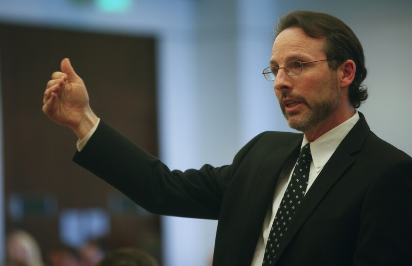 Orange County Assistant Public Defender Scott Sanders, seen in 2014.