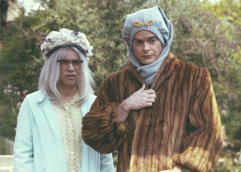 """Fred Armisen, left, and Bill Hader in the """"Sandy Passage"""" episode of IFC's """"Documentary Now!"""""""