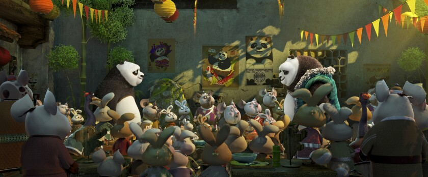 """A scene from DreamWorks Animation's """"Kung Fu Panda 3."""""""