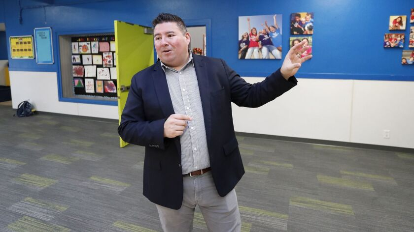 Robert Santana, Boys & Girls Club Central Orange Coast CEO, speaks about upgrades planned for the Bo