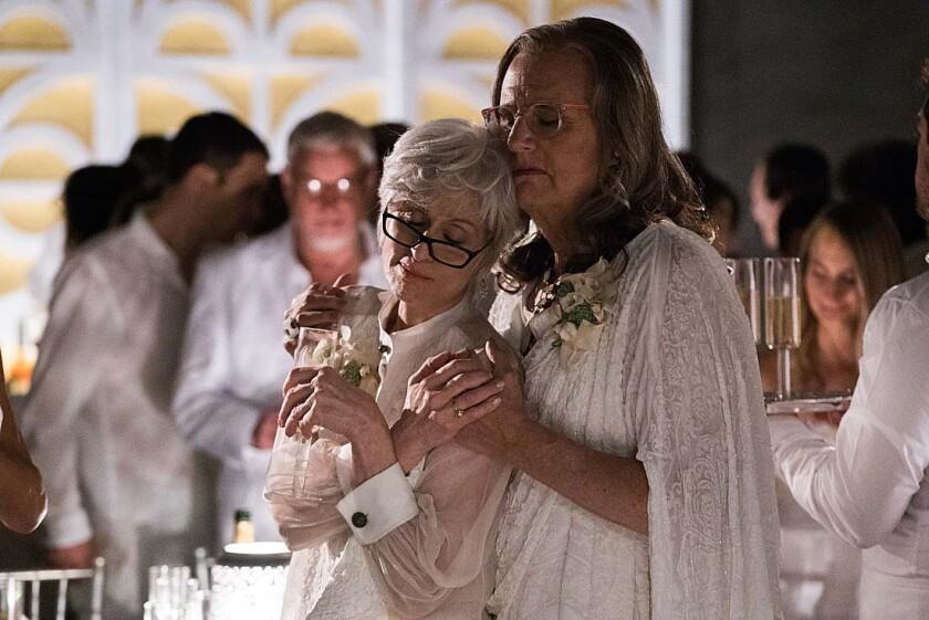 Judith Light and Jeffrey Tambor in 'Transparent'