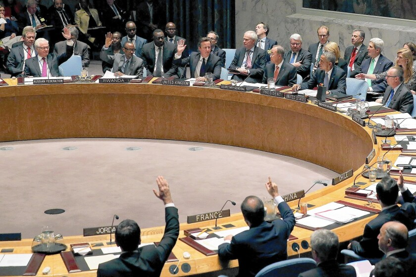 Obama chairs U.N. Security Council meeting