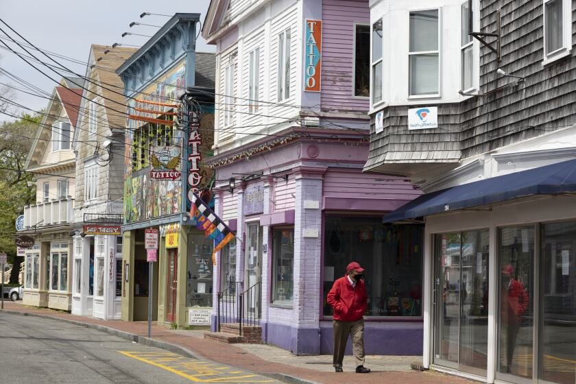 Provincetown, Mass., was still shuttered in May