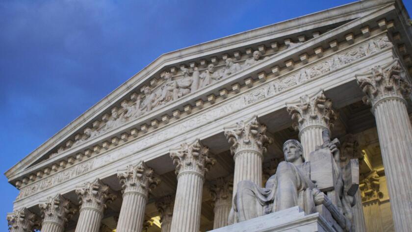 Edificio de la Suprema Corte de Justicia en Washington.