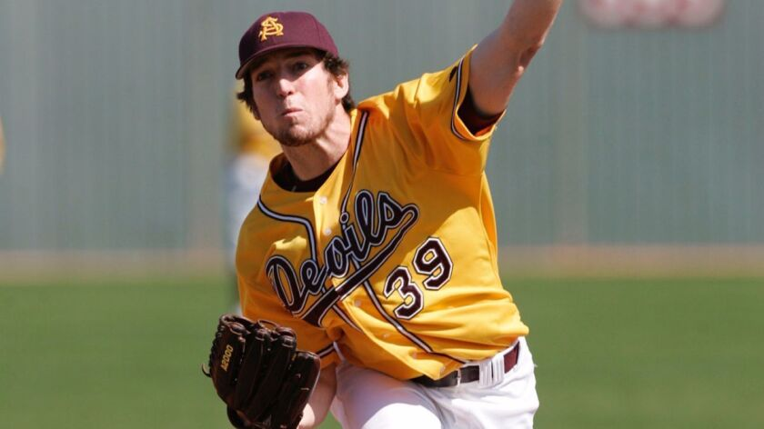 Ike Davis was a closer for the Sun Devils, walking four and striking out 30 in 24 innings.