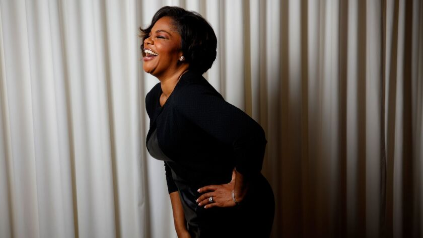 """Academy Award-winning actress and comedian Mo'Nique stars in """"Almost Christmas."""""""
