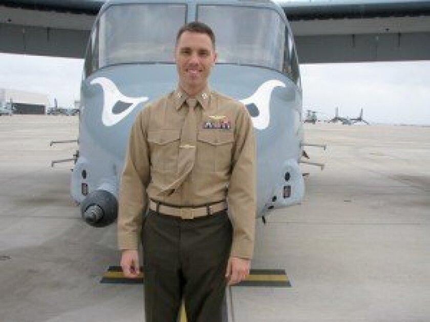 Marine Corps Air Station (MCAS), San Diego. Captain Matthew J. Wesenberg. Photo/ Jeanne McKinney