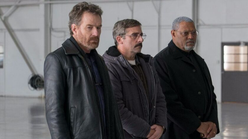 """** *SNEAKS FALL 2017**DO NOT USE PRIOR TO SEPTEMBER 3, 2017**From L to R: Bryan Cranston as """"Sal,"""" S"""