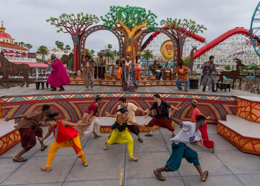 """""""Tale of the Lion King"""" at Disney California Adventure Park"""
