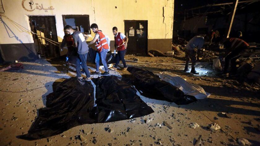 TOPSHOT-LIBYA-CONFLICT-MIGRANTS-TOLL