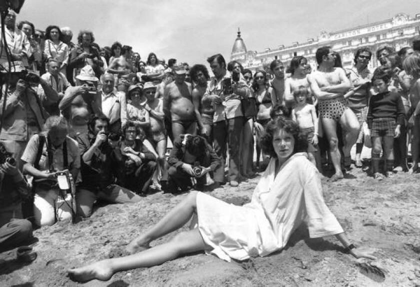 Cannes has changed a lot since the 1977, when Dutch actress Sylvia Kristel posed on the beach by the Carlton Hotel to the delight of fans and press photographers. But it's still the place to be seen.