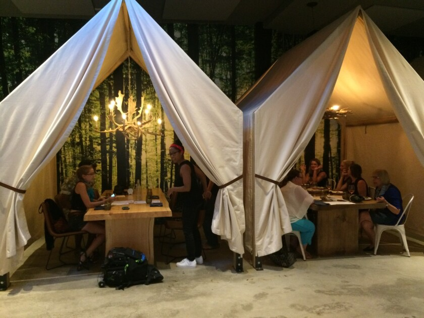 Comfort food: camping a big theme this year at San Diego restaurants.