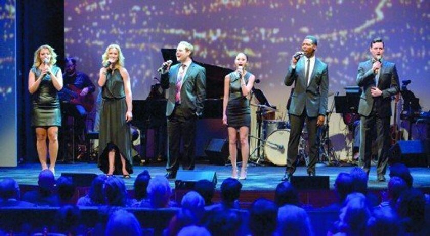 The evening featured a standout performance of songs from the Playhouse's last 30 years by Playhouse alums Elizabeth Stanley, 'Xanadu,' 'Cry-Baby'; Melissa Hoff, 'Zhivago'; Chad Kimball, 'Memphis'; Kimiko Glenn, 'The Nightingale,' 'Yoshimi Battles the Pink Robots'; Michael Benjamin Washington, 'The
