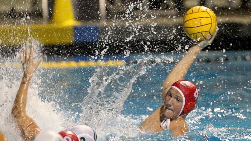 Cathedral Catholic's Tommy Gruwell looks to make a shot against Coronado Tuesday during the San Di