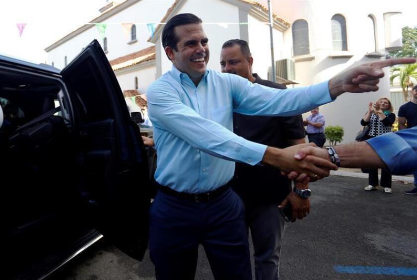 El gobernador de Puerto Rico, Ricardo Rosselló, participó hoy en la apertura de las nuevas instalaciones del restaurante Hard Rock Café en San Juan y que generará 190 nuevos empleos en el área. EFE/Archivo