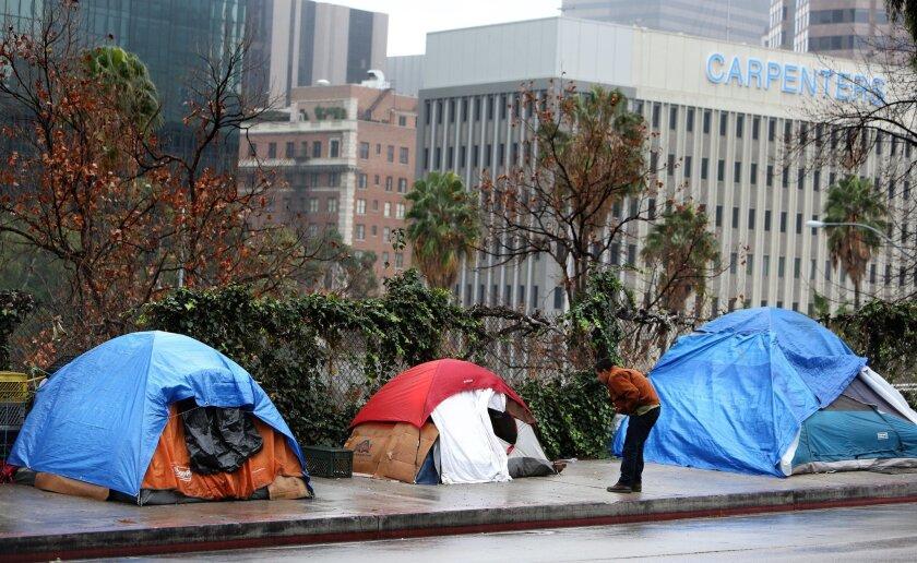 L.A.'s homeless and El Niño