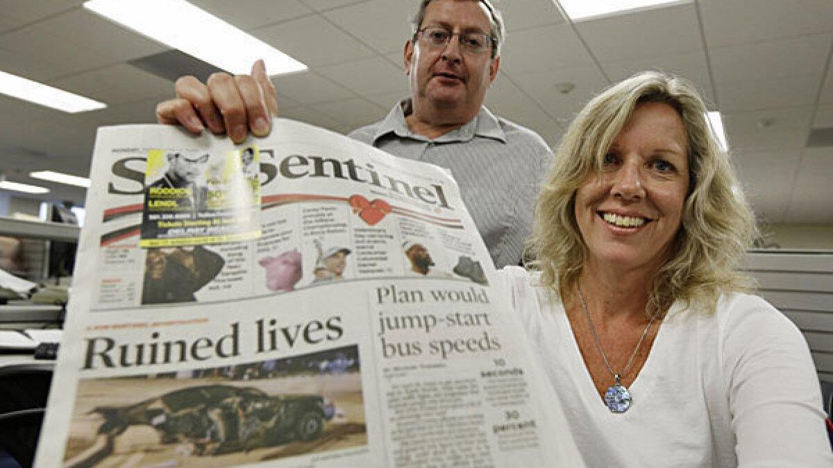 South Florida Sun Sentinel wins Pulitzer - Los Angeles Times